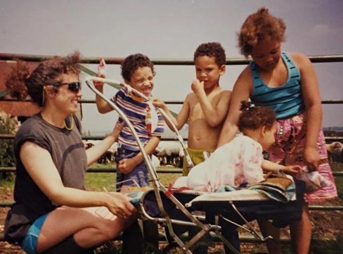 Martha and family